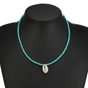 Ocean Collection Cowrie Pendant Choker