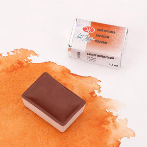 "Extra-fine artists'watercolors set ""leningrad"" 24 colours in 2,5 ml pans, cardboard box"