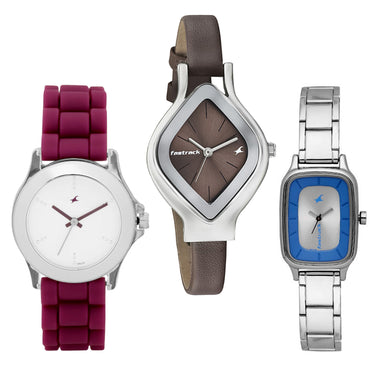 Fastrack Set of 3 watches for Women