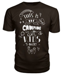 """This is my camping with kids  T-shirt""- Premium Unisex Tee"