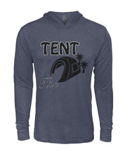 "Load image into Gallery viewer, ""Tent it Up""- Hooded Long Sleeve"