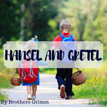 "Load image into Gallery viewer, Audio Book - Story Tale  For KIDS    ""HANSEL AND GRETEL"""