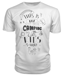 """This is my camping with kids T-shirt ""- Premium Unisex Tee"