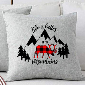 Funny Covers Pillow  for Camping Lovers -Shipping to USA only