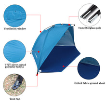 Load image into Gallery viewer, Outdoor Tent - Sunshine Shelter  for 2 Person
