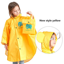 Load image into Gallery viewer, Waterproof Rain Poncho for KIDS