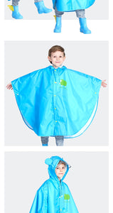 Waterproof Rain Poncho for KIDS
