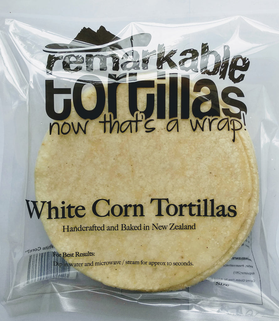 White Corn Tortillas Ay Caramba
