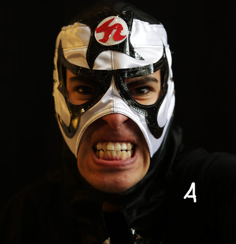 Mexican Wrestling Masks - different styles