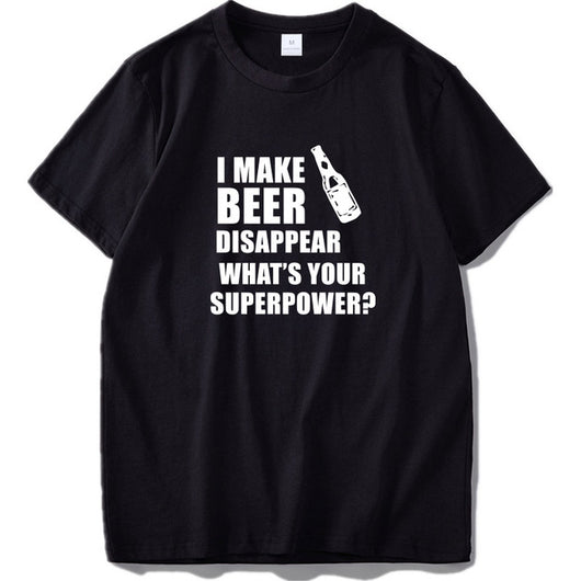 T-shirt Fun - I Make Beer Disappear