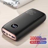 Chargeur Power Bank 30000mAh Quick Charge 3.0