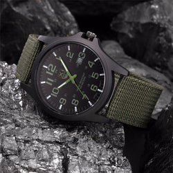 Military Style Montre Outdoor en Acier Inoxidable