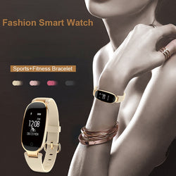 Bluetooth Fitness Tracker Smart Watch Pour Dames