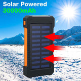 Top 30.000mAh Power Bank Chargeur Solaire