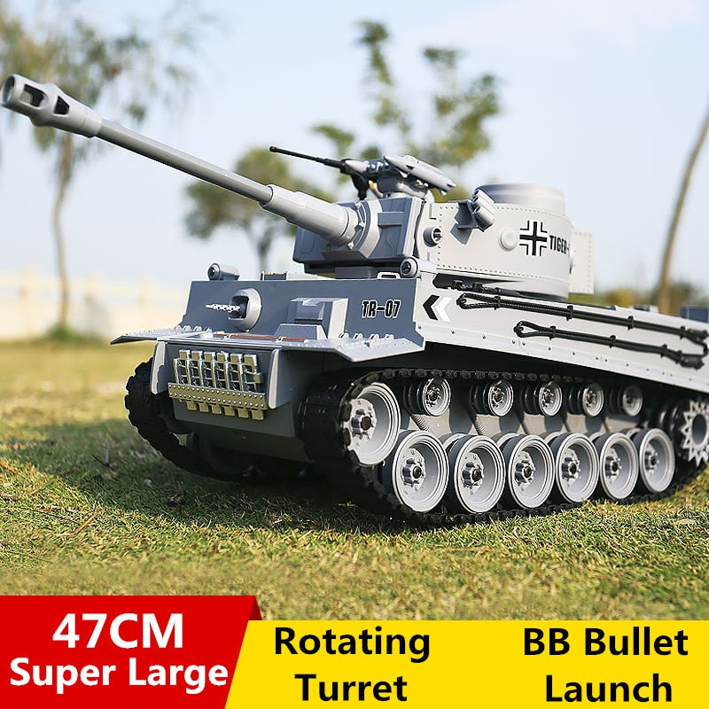 German Tiger 2A6 Army Military RC Tank – toysworldstores com