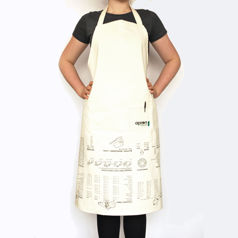 apron cooking guides
