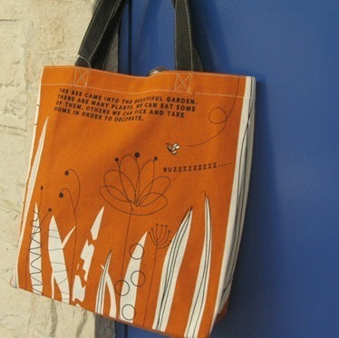 bee&garden tote bag