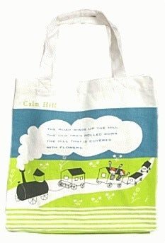 calm hills tote bag