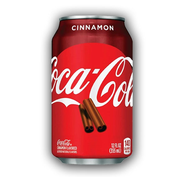 COCA COLA CINNAMON GUSTO CANNELLA 355ML - American Mini Market