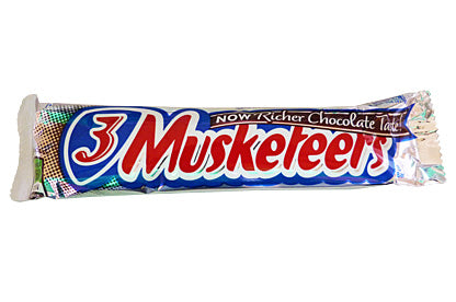 3 Musketeers American chocolate bar  54,4gr - American Mini Market