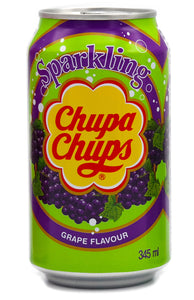 Drinks Chupa Chups Sparkling Grape Soda Gusto Uva 345Ml