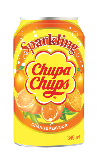 Drinks Chupa Chups Sparkling Orange Soda Gusto Arancia 345Ml