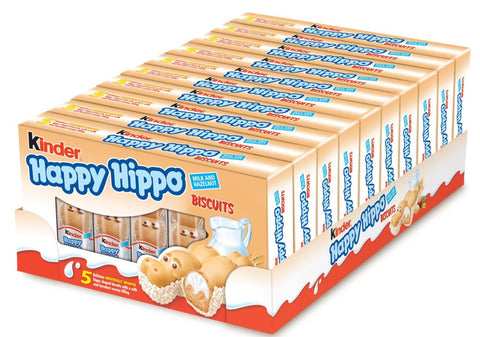 Kinder Happy Hippo Hazelnut Multipack 5 Pezzi. 10X103G - American Mini Market