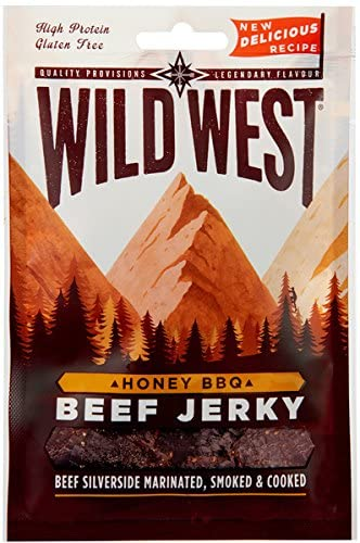 Wild West Beef Jerky Honey Carne Secca Gusto Miele 25G