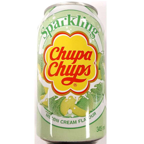 Drinks Chupa Chups Sparkling Melon Soda Gusto Melone 345Ml