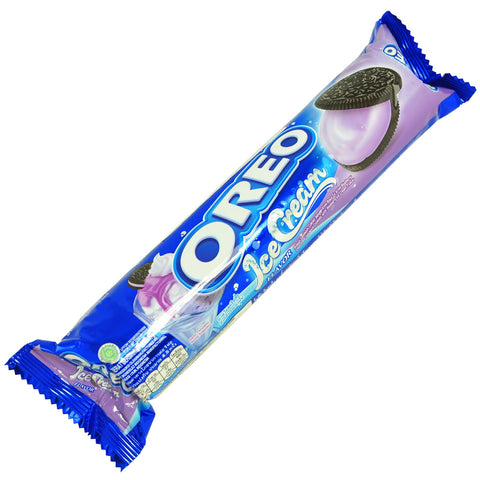 Oreo Ice Cream Blueberry Biscotto Oreo Farcito Con Crema Al Gusto Mirtillo 137G - American Mini Market