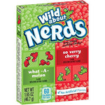 Wonka Nerds What A Melon So Very Cherry Microcaramelle Al Gusto Melone E Ciliegia 46,7g - American Mini Market
