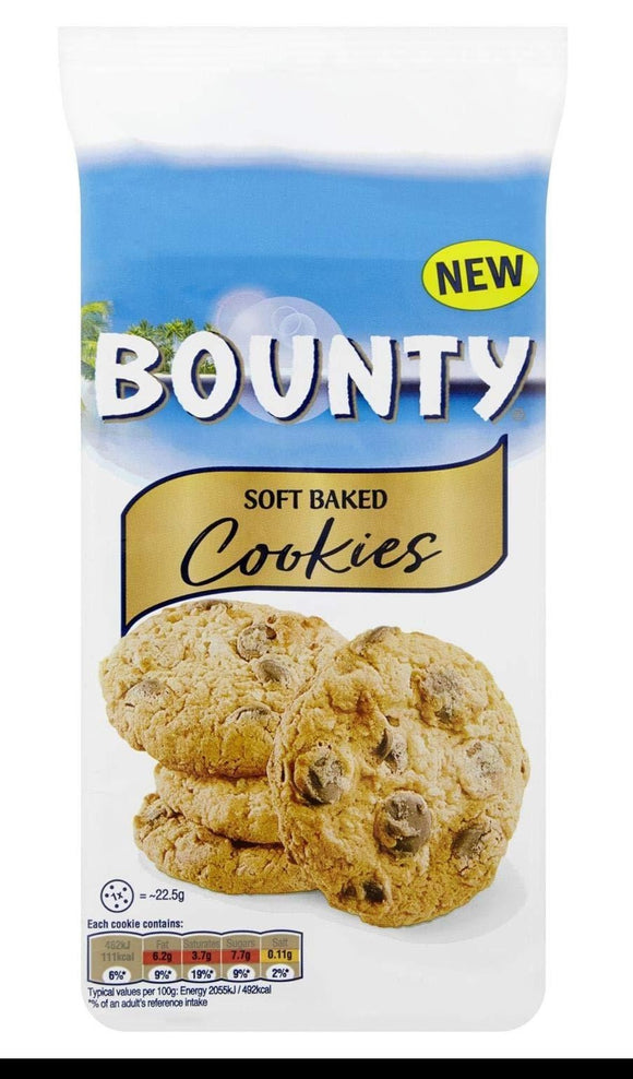 Bounty Soft Baked Cookies Biscotti Cookie Al Gusto Cocco 180g - American Mini Market