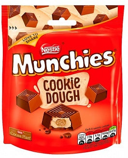 Nestle Munchies Cookie Dough Ripieno Al Biscotto 101G - American Mini Market