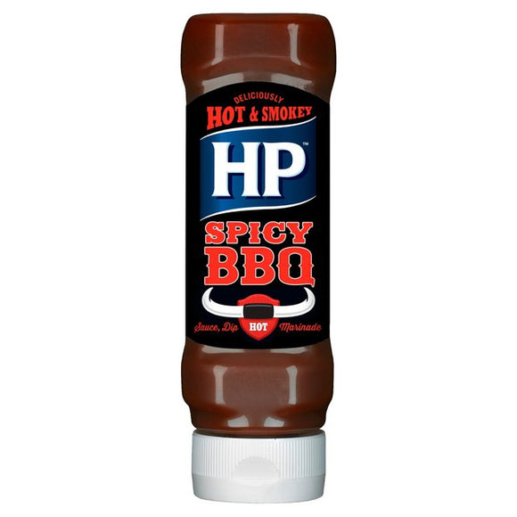 Hp Spicy Barbecue Salsa Barbecue Piccante 470g - American Mini Market