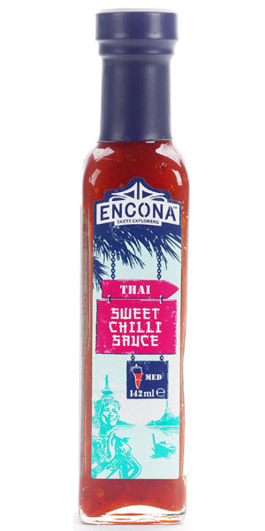 Encona Thai Sweet Chilli Sauce Salsa Dolce E Piccante 142Ml