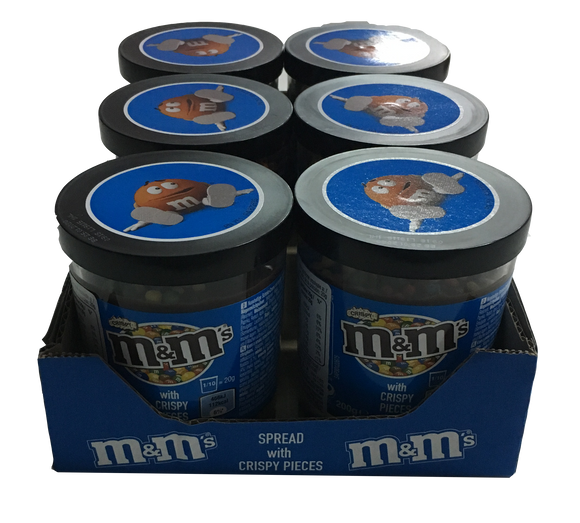 M&m's Spread Crema Spalmabile Al Gusto M&m's 6x200g - American Mini Market