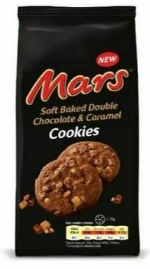 Mars Biscotto Soft Baked Double Chocolate & Caramel Cookies 162g