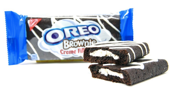 Oreo Brownie Creme Filled, brownies a crema e cioccolato da 85g