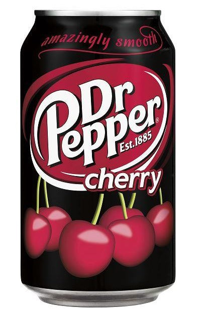 Dr Pepper Cherry 330Ml Soda Gusto Ciliegia
