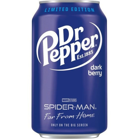 Dr Pepper Dark Berry Bevanda Al Gusto Di Bacche Scure 355ml - American Mini Market