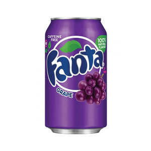 Fanta Grape Bevanda Frizzante Al Gusto Uva 355Ml - American Mini Market