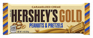 Hershey'S Gold With Peanuts And Pretzels - American Mini Market