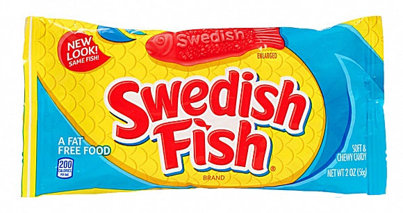 Swedish Fish Mini Soft & Chewy Candy Caramelle 56G - American Mini Market