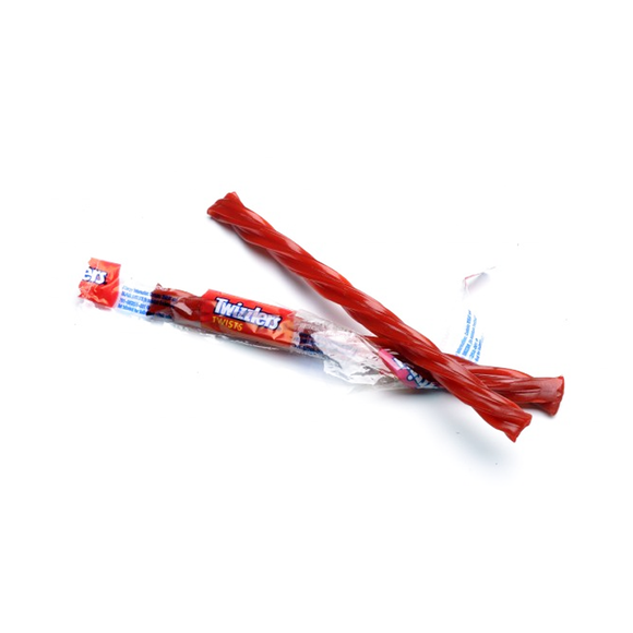 TWIZZLERS STRAWBERRY CARAMELLA GUSTO FRAGOLA (BOX DA 180PZ) - American Mini Market