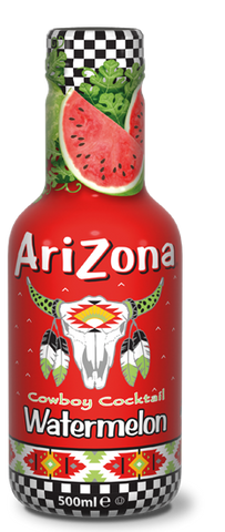 Arizona Watermelon Bevanda Naturale Al Gusto Anguria 500Ml - American Mini Market