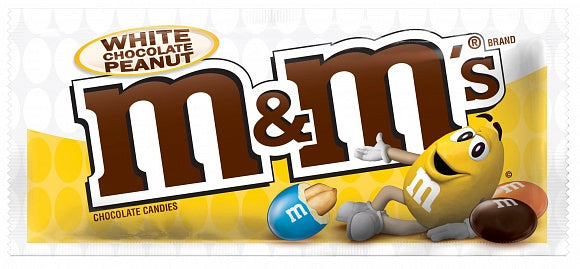 M&M'S White Chocolate & Peanut 38G - American Mini Market