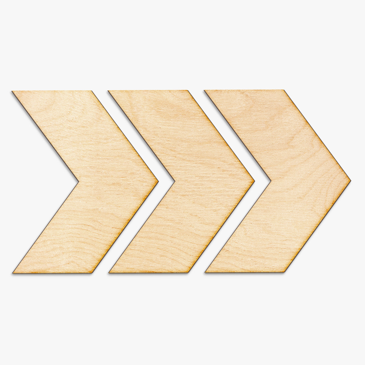 Chevron Arrow Set Wood Sign