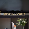 Freestanding Block Word Custom Wood Cut Sign