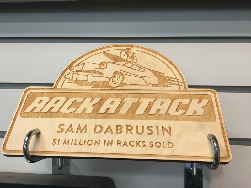 Rack Attack Plaque