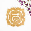 Root Chakra Engraved Wood Sign